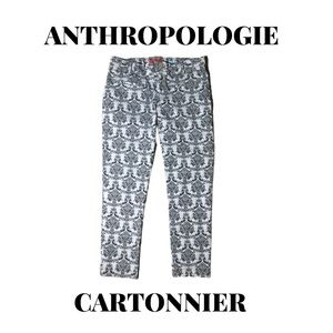 """Anthropologie Cartonnier """"Charlie"""" Ankle Pant, 6"""